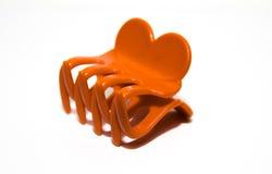 Plastic band of haarklem stock afbeelding