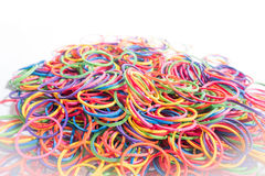 Plastic band , Rubber band Royalty Free Stock Images