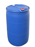 Plastic Barrel Royalty Free Stock Photos