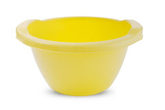 Plastic basin Stock Photo