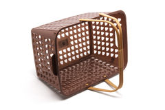 Plastic Basket Royalty Free Stock Photos
