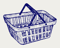 Plastic basket Royalty Free Stock Photo