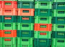 Plastic basket stock images