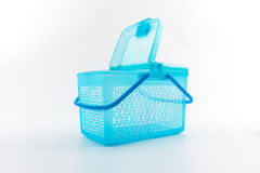 Plastic basket. Stock Photos