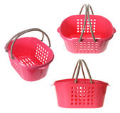 Plastic Baskets Royalty Free Stock Images