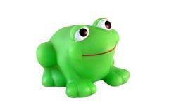 Plastic bath frog Stock Photo