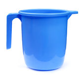 Plastic bathroom mug Stock Photos