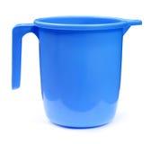 Plastic bathroom mug Stock Photos