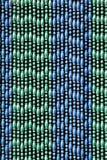 Plastic bead curtain Stock Photo