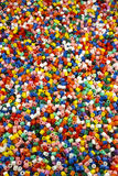 Plastic beads Stock Images