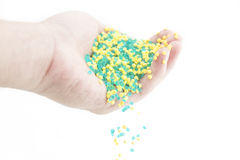 Plastic beads Royalty Free Stock Image
