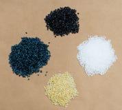 Plastic beads Stock Photos