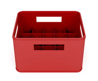 Plastic beer crate Royalty Free Stock Photography