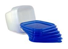 plastic behållare Fotografering för Bildbyråer