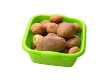 De aardappels van de kubus Royalty-vrije Stock Foto