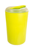 Plastic bin Stock Photo