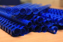 Plastic binding combs Royalty Free Stock Photography
