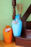 Plastic bins Royalty Free Stock Image