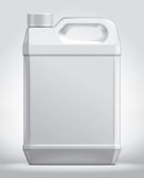 Plastic canister Royalty Free Stock Photos