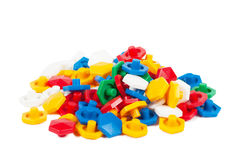 Plastic blocks Royalty Free Stock Photo