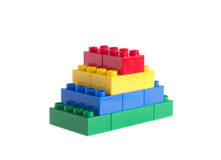 Plastic blocks Stock Photos