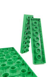 Plastic blocks Stock Image