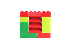 Plastic blocks Royalty Free Stock Images