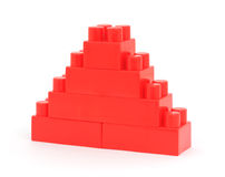 Plastic Blocks Stock Images