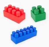 Plastic Blocks Royalty Free Stock Photography