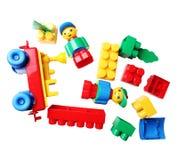 plastic blocks for children Stock Photography