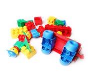Plastic blocks for children Stock Image