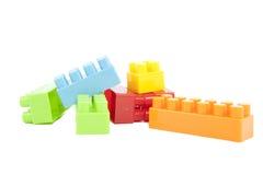 Plastic blocks Royalty Free Stock Image