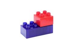 Plastic Blocks Royalty Free Stock Images
