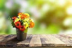 Plastic bloem Royalty-vrije Stock Afbeelding
