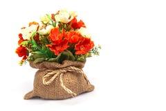 Plastic bloem Royalty-vrije Stock Afbeeldingen