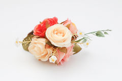 Plastic bloem stock afbeelding