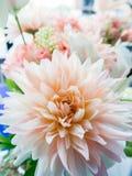 Plastic bloem Stock Fotografie