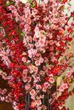 Plastic bloemen. royalty-vrije stock foto's