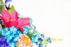 Plastic bloemontwerp Royalty-vrije Stock Foto's