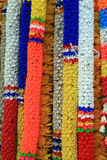 Plastic bloemslingers Royalty-vrije Stock Afbeelding