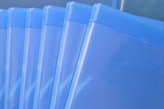 Plastic Blu ray  Case Stock Photography