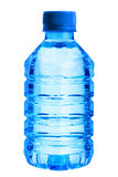 Plastic blue bottle Royalty Free Stock Photography