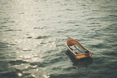 Plastic boat Royalty Free Stock Image
