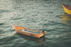 Plastic boat Royalty Free Stock Images