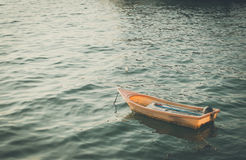 Plastic boat Stock Photography