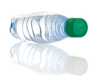 Plastic bottle. The plastic bottle with reflection Stock Images