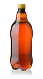 Plastic bottle of beer Royalty Free Stock Image