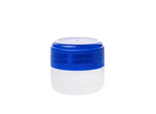 Plastic bottle cap cover in different colours. Royalty Free Stock Photography