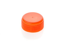 Plastic bottle cap cover in different colours. Stock Photo