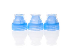 Plastic bottle cap cover with special covers. Royalty Free Stock Photography